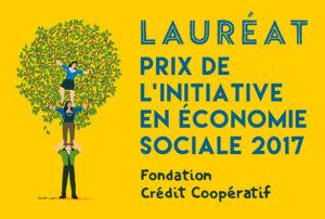 Macaron_Lauréat 2_Fondation Crédit Coopératif_Couleur
